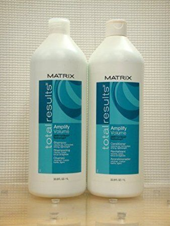 Matrix Total Results Amplify Volume Shampoo And Conditioner 1 Liter