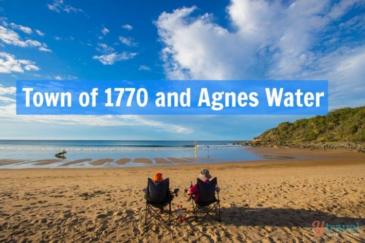 Things to do in the Town of 1770 and Agnes Water in Queensland, Australia