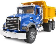 Bruder Mack Granite Dump Truck Toy Model