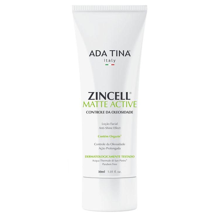 Loção Facial Anti Brilho Regulador de Oleosidade Zincell Matte Active - Shop4Men