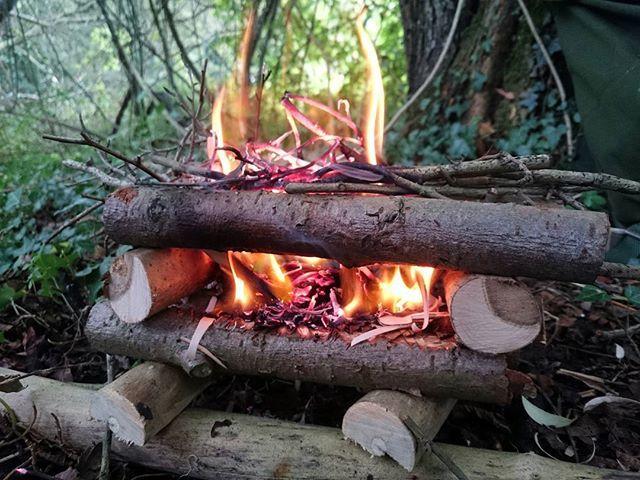 Making small raised fires 🔥 #bushcraft #primitive #survival #woods #forest #woodsman #forager #skills #photography #wild #adventure #nature #naturelover #friluftsliv #bushcrafting #campfire #bushcraftuk #getoutside #natureseekers #instanature #wildcamping #fire #modernoutdoorsman #woodcraft