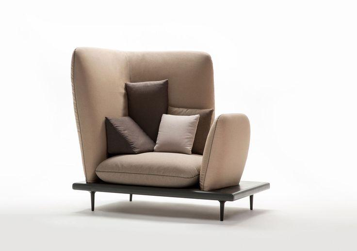 Sofa4manhattan armchair design by Lera Moiseeva in collaboration with Luca Nichetto