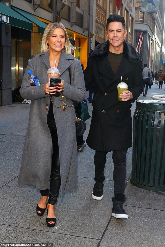 Vanderpump Rules Tom Sandoval And Ariana Madix Step Out In Style