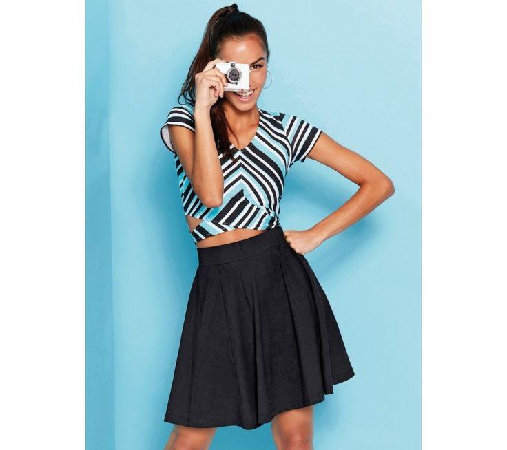 Krátká sukně do zvonu | modino.cz #modino_cz #modino_style #style #fashion #summer #bestseller