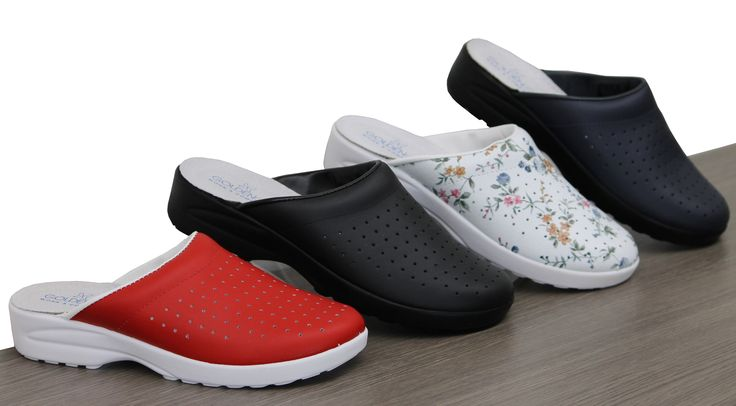 These clogs make perfect house shoes!  #gilmourscomfortshoes #instore #shoes #comfort #ladies #style #house #clogs