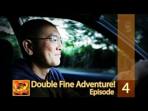 "Double Fine Adventure! EP04: ""Walking Around In Our Drawings"" - YouTube"