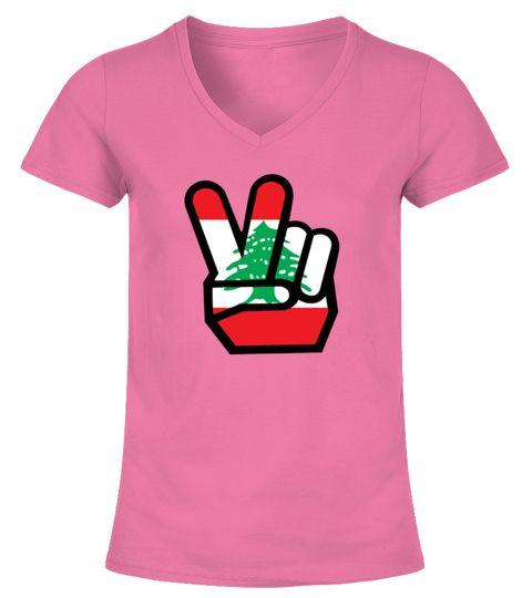 LEBANON flag winning finger Shirt