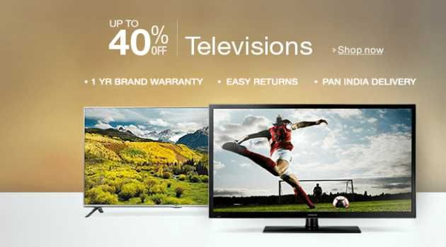 Buy TV Online . Shop and Save Upto 40% Off on Television with features like Full HD , Ultra HD  , HD Ready etc. across wide range of brands  Micromax , LG