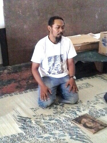Taring Padi in his studio