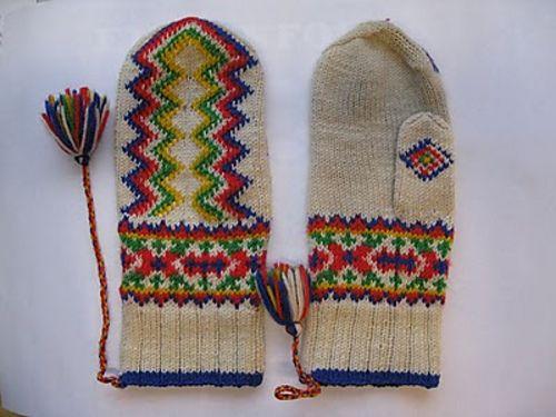 Ravelry: Lapin lapaset pattern by Mary Olki