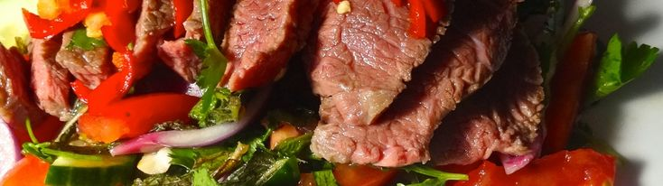 Sous Vide Thai Beef Salad
