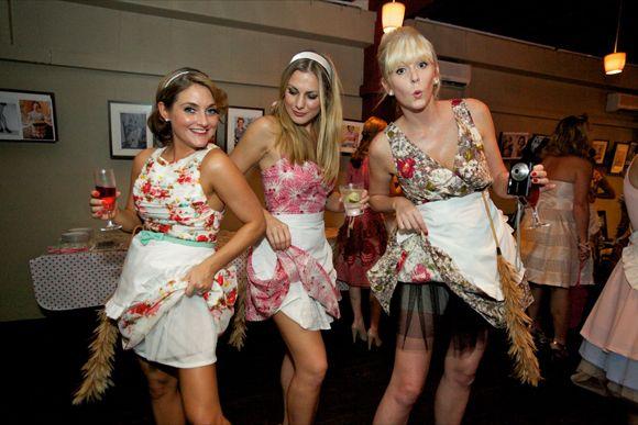 1950s Mad Men Inspired Hen Party... - Love My Dress Wedding Blog