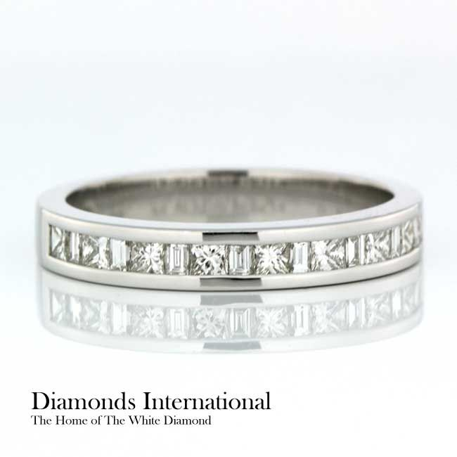 Channel Set Wedding Ring 18ct White Gold Channel Set Wedding Ring. Product Reference 0409753 #love #diamondsinternational #engagement #wedding #bling #diamond #marryme #jewellery #engaged #happy #life