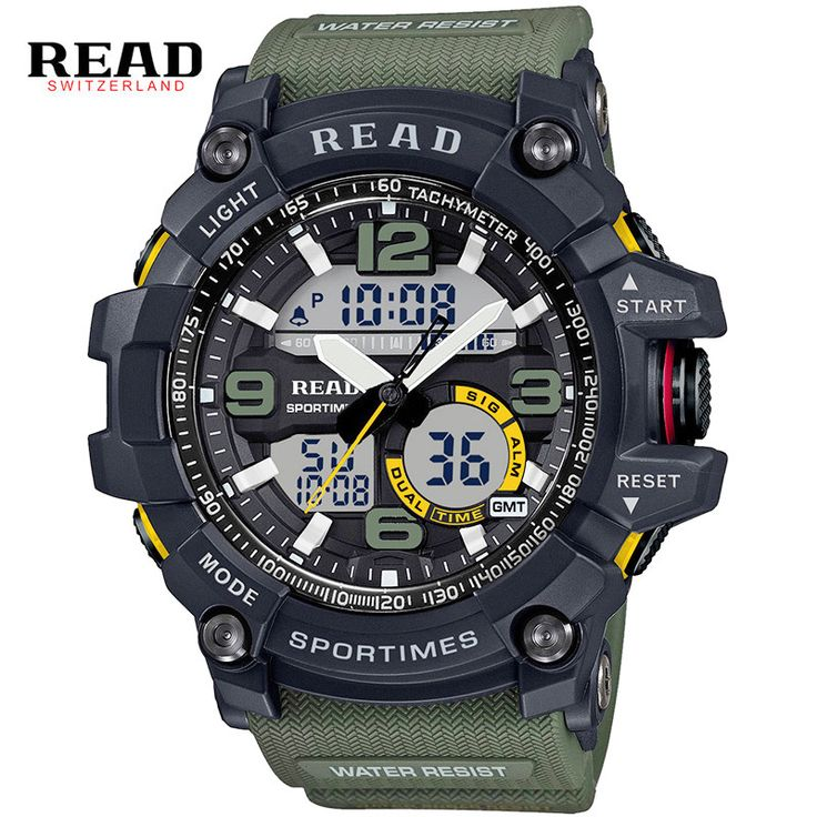 efbacaf26de2 Cheap masculino, Buy Quality masculinos relogios directly from China  masculino watch Suppliers  New Fashion Watch LED Men Waterproof Sports  Watches Shock ...
