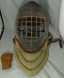 @fencinguniverse : Antique Fencing Mask / Helmet Wire Mesh Sword Fighting HTF  $269.99 End Date: Thursday Nov http://aafa.me/1HeET0a http://aafa.me/1GWTZg8