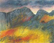 Glowering mountains 2