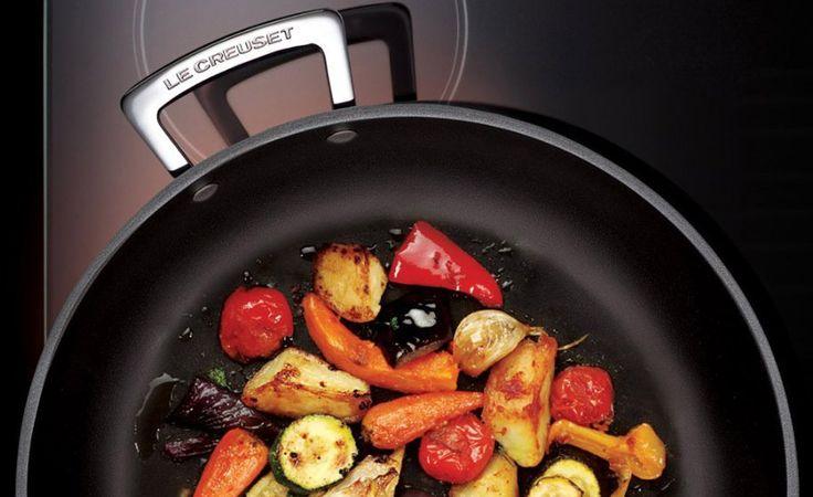 Cu les son las mejores sartenes para cocinas de for Sartenes profesionales cocina