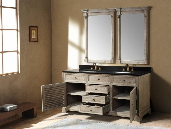 kids bathroom vanity, vented cupboards
