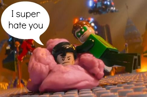My ultime favorite quote from the LEGO Movie