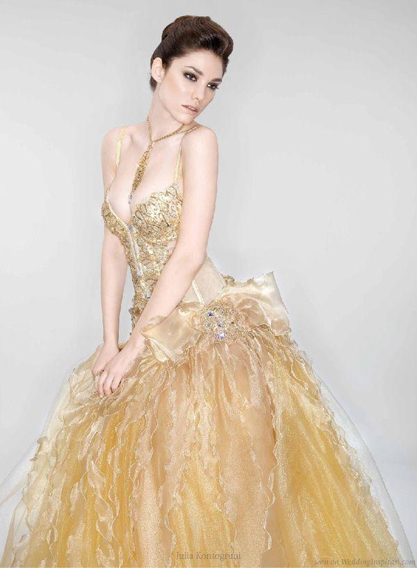 Awesome Sexy Gold Wedding Dress http casualweddingdresses net gold wedding