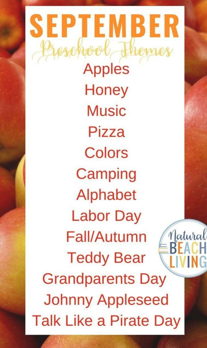September Preschool Themes : september, preschool, themes, September, Preschool, Themes, Lesson, Plans, Activities,, Printable, Themes,