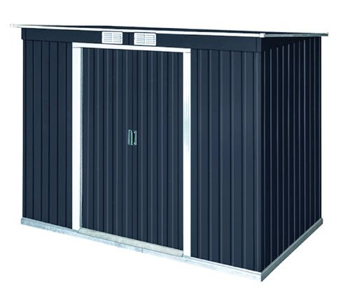 $430 DuraMax 8x4 Pent Roof Metal Shed Kit w/ Vents