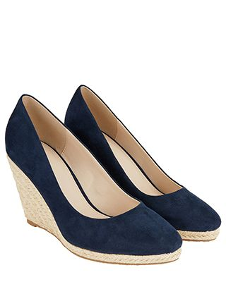 For the Corkswoon, this is the Fleur Espadrille Wedge Heels at Monsoon £45
