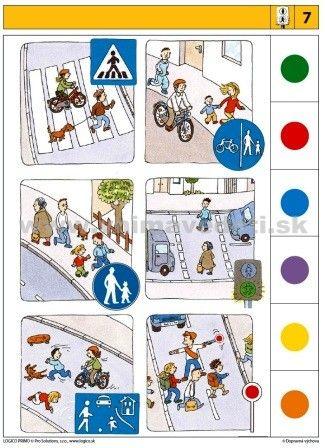 Logico Primo Dopravná výchova - autokorektívne karty
