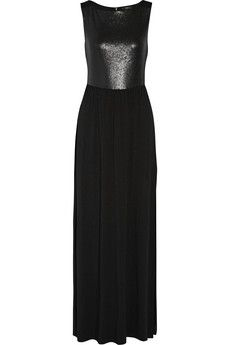 Tart Collections Estacada sequin-paneled stretch-jersey maxi dress | THE OUTNET