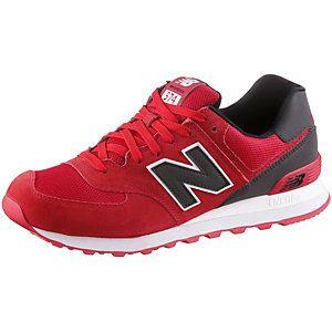 <title>NEW BALANCE ML574CND Sneaker Herren rot/schwarz 42 1/2 im Online Shop von SportScheck kaufen</title>