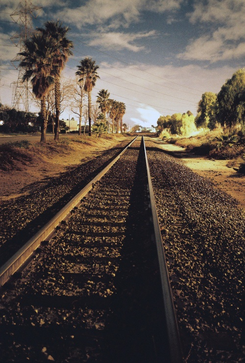 Road train tracks landscapes photography | Gods country ...