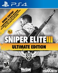 Sniper Elite III Ultimate Edition PS 4 Release Date 10.03.2015