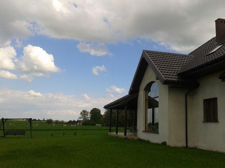 Widok z ogrodu  #ogród #projekt #dom