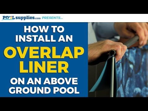 How to: Replace an Above Ground Pool Liner - YouTube