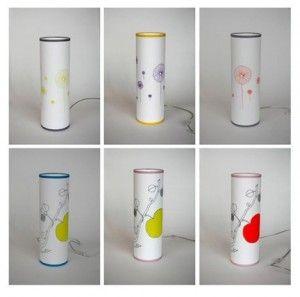 La designer Celine Saby ha realizzato per l'atelier Beau Travail delle lampade da tavolo di chiara ispirazione giapponese, realizzate utilizzando dei tessuti in cotone che ricordano molto le fantasie dei kimono.