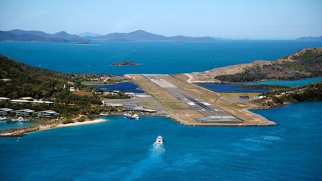 Great Barrier Reef Airport in Queensland, Australia