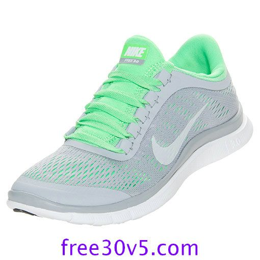 womens nike free 3.0 v4 grey green