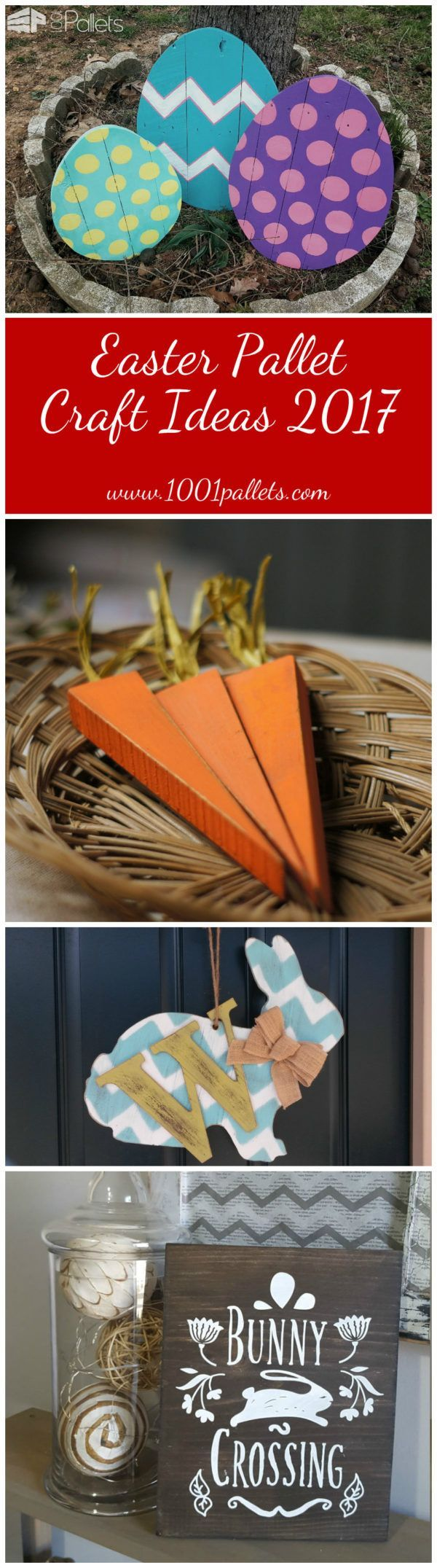 #Best-Of, #HolidayDecor, #Outdoors, #PartyDecor Aah, Easter - springtime, renewal, and... bunnies! Here are some great Easter Pallet Craft Ideas that you may want to try! Editor's note: Remember, bunnies and ducklings are adorable, but please use caution before you give critters to unsuspecting