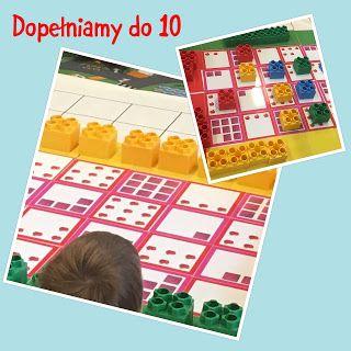 """""""Do 10...a może do 12, 14, 15"""" czyli """"Gry matematyczne"""" znowu naszą inspiracją ~ Kodowanie na dywanie"""
