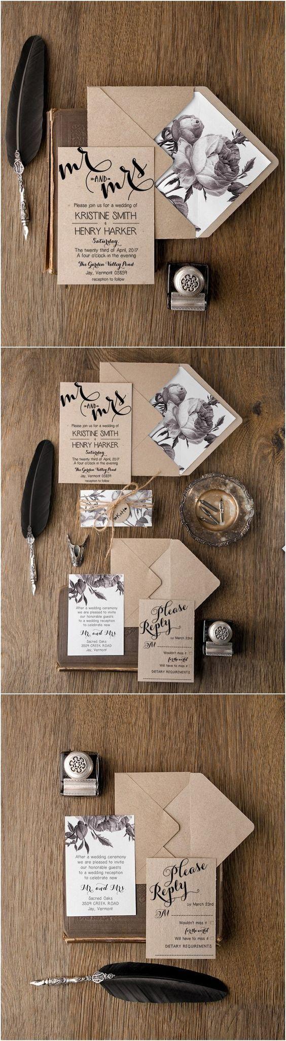 【好康】打破传统红卡片!来个不一样的婚礼邀请卡设计!