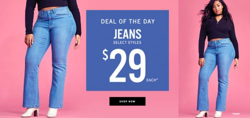 Addition Elle Canada Door Crasher: Jeans At Only $29 Today Only http://www.lavahotdeals.com/ca/cheap/addition-elle-canada-door-crasher-jeans-29-today/189380?utm_source=pinterest&utm_medium=rss&utm_campaign=at_lavahotdeals