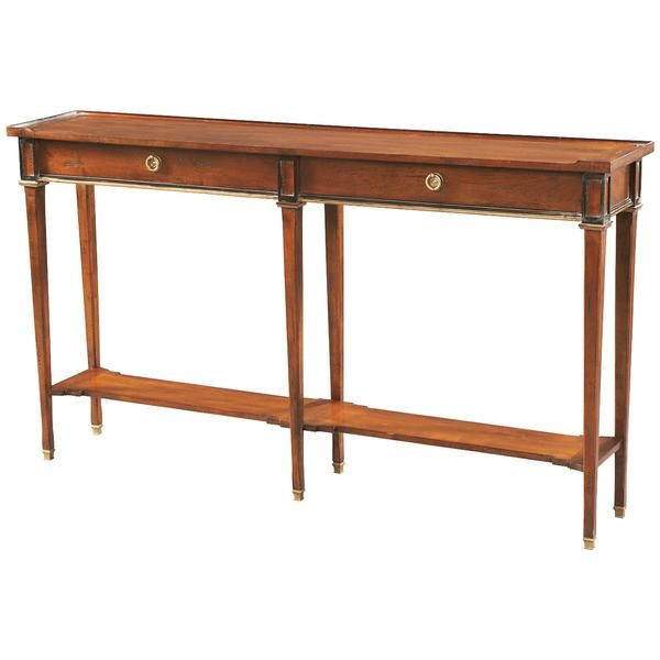 CTH Sherrill Occasional Console 730-712 | Narrow console ...