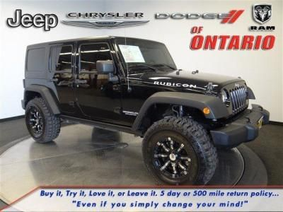 2011 Jeep Wrangler Unlimited Rubicon For Sale In Ontario | Cars.com