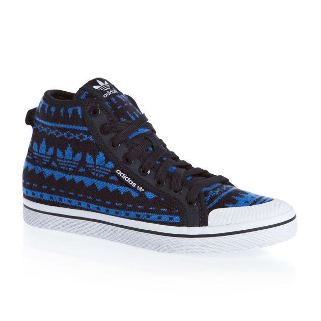 Women's Adidas Originals Honey Mid Ef W Shoes - Legend Ink/Blast Blue/Running White