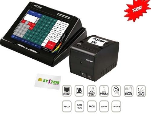 SYS@TOUCH 300 è il registratore di cassa ideale per il negozio moderno.    INFO:  http://www.recasystems.com/index.php?section=prodotti=57=SYS%40TOUCH+300