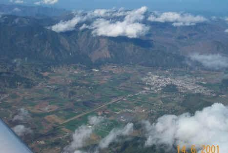 Aerial view of Constanza in the Cibao valley. ◆Dominican Republic - Wikipedia http://en.wikipedia.org/wiki/Dominican_Republic #Dominican_Republic