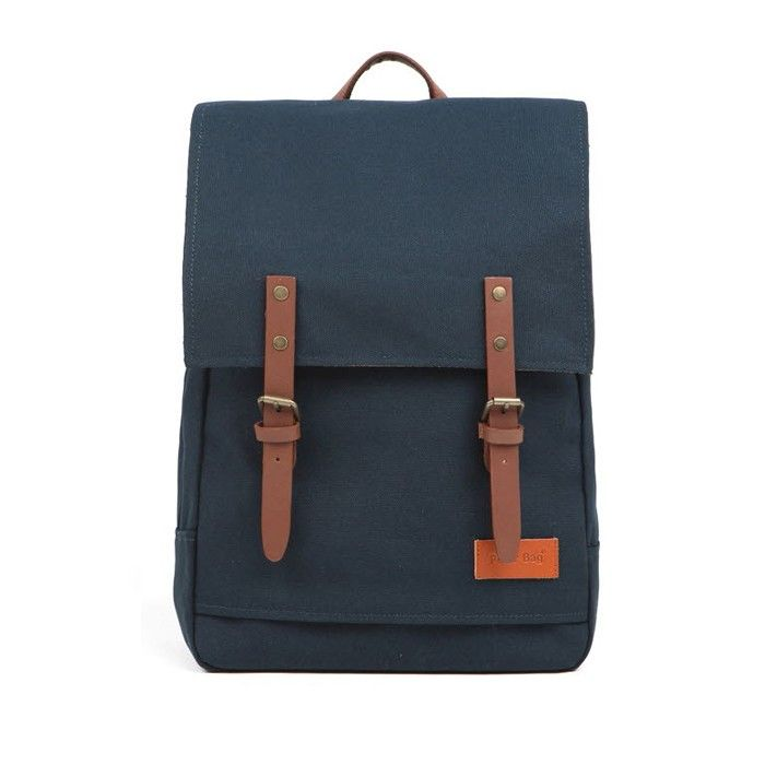 [Peter Bag] Mercury Canvas Backpack - Turkey Blue - Mercury canvas backpack, the unique satchel style backpack.  Brand 'Peter Bag' Peter Bag is the Shibuya Style-inspired casual backpack brand which has been launched in Japan, 1996. Shibuya, heart of Japanese street fashion, is located in Tokyo. Backpacks are made of strong materials like cotton canvas and genuine leather with well-designed structure, so you will be able to carry your belongings securely. If you are looking for stylish…