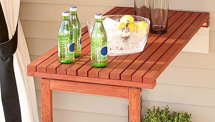 Fold Down Patio Wood Table Diy Ideas Pinterest Decks