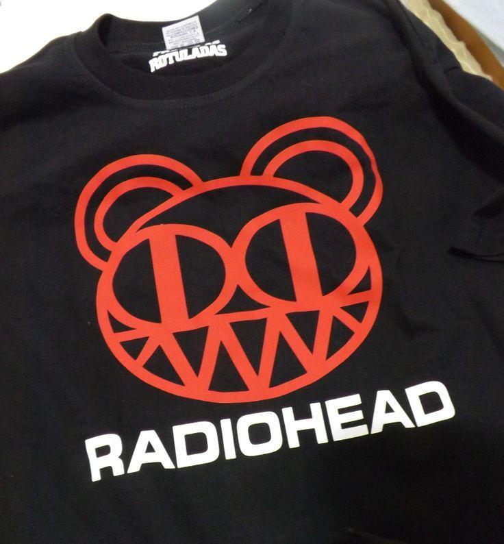 Radiohead / tshirt / remera / franela