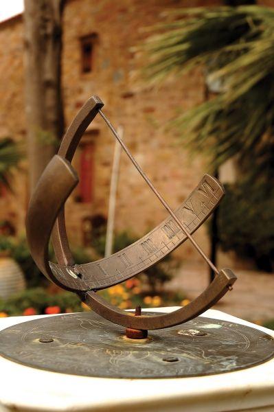 Sundial.. Chios Island (North Aegean), Greece